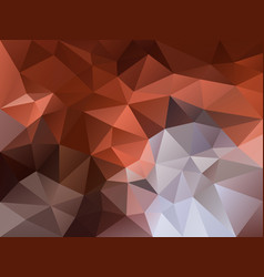 Polygon background copper brown gray vector