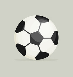 Soccer ball soccer ball icon soccer ball flat vector