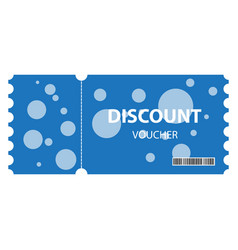 voucher background vector image