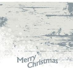 xmas card vintage vector image