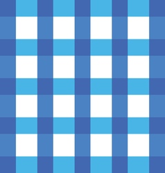 Tablecloth blue in color cotton classic vector