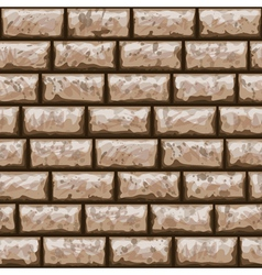 Dirty brick wall seamless pattern vector