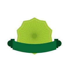 Green seal stamp icon label design vector