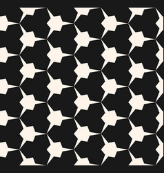Geometric seamless pattern with edgy triangles vector