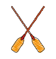 Paddles vector