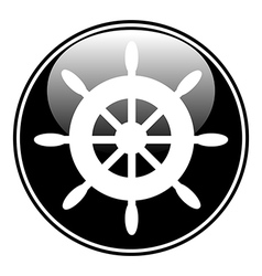 Steering wheel button vector