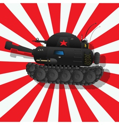 The fantastic tank vector image