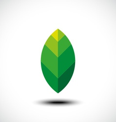 Leaf nature icon vector