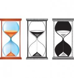sand clock vector image
