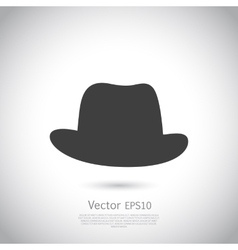 Hat icon vector