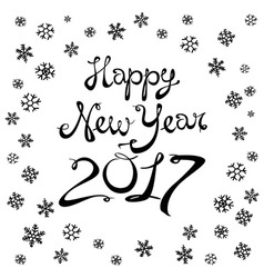 Christmas and happy new year blurred background vector
