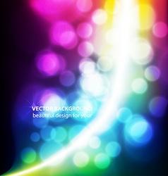 Blurred Lights Background vector image