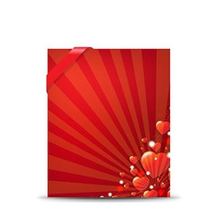 Red Valentines Day Banner vector image vector image