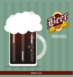 Beer drink oktoberfest design vector