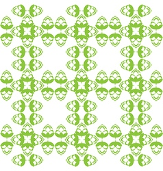 Grass green hop flowers digital seamless pattern vector