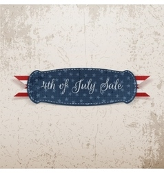 Independence day 4th of july holiday card template vector