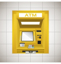 Atm cash machine vector