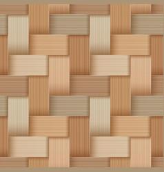 Birchbark basketwork vector