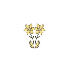 Flower computer symbol vector