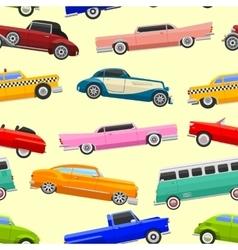 Limousine seamless pattern vector