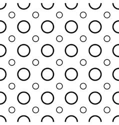 Polka dot geometric seamless pattern 1003 vector image vector image