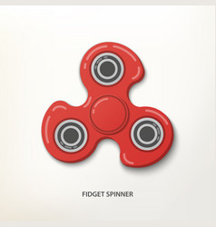 spinner with shadow vector image