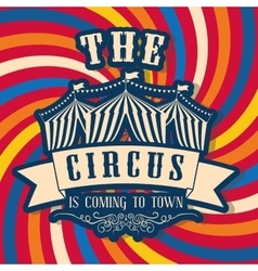 Tent icon circus and carnival design vector