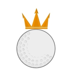 Golf emblem icon vector