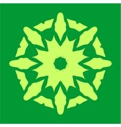 Ornament in color 34 vector image