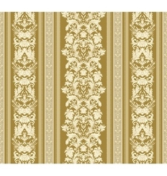 Seamless vintage background royal renaissance vector
