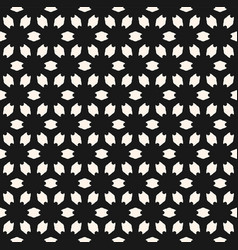 abstract floral geometric seamless pattern simple vector image vector image