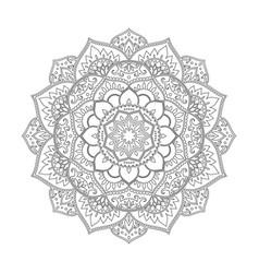 Mandala round pattern vector