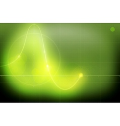 Oscillograph vector image vector image