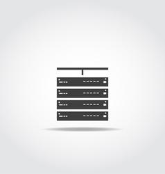 Server vector image vector image