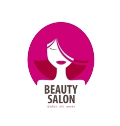 beauty logo design template cosmetic vector image vector image