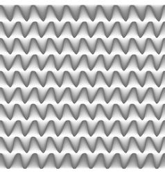 relief of metal teeth vector image vector image