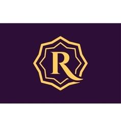 Royal logo template hotel vector