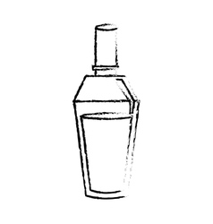 Perfume bottle icon image vector