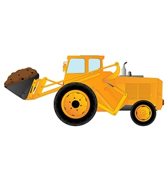 Earth mover vector image