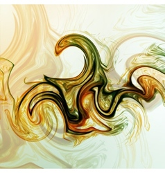 Abstract mystic background vector image