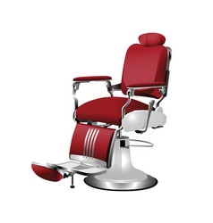 Barber chair vector