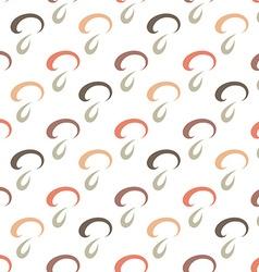 Stylish mushroom seamless pattern vector image