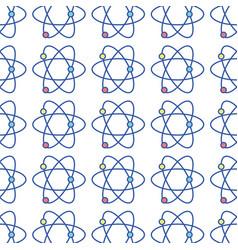 Physics atom chemistry science education vector
