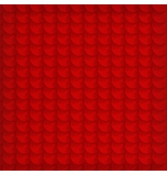 Abstract red circle background vector