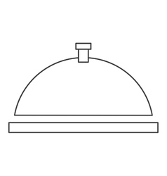 Dish tray icon vector