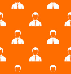 businessman pattern seamless vector image vector image