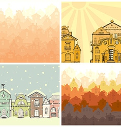 HouseElements70 vector image vector image