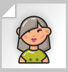 People face icons 9 vector