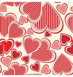 valentines wallpaper vector image vector image