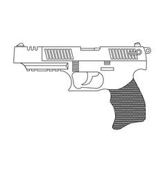 Firearms vector